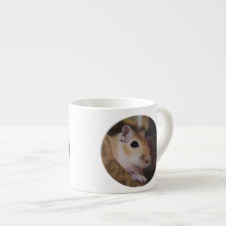 Cute Golden Pet Gerbil Espresso Cup