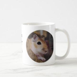 Cute Golden Pet Gerbil Mug