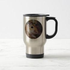 Cute Golden Pet Gerbil Travel Mug at Zazzle