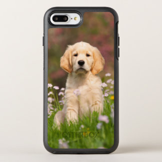 Cute Golden Retriever Dog Puppy Photo - Protection OtterBox Symmetry iPhone 7 Plus Case