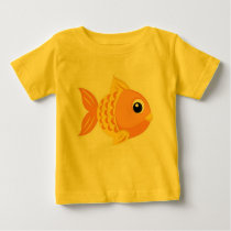 Cute Goldfish Baby T-Shirt