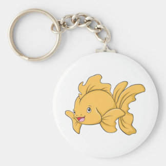 Cute Goldfish Keychain