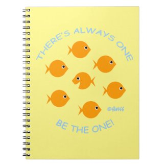 Cute Goldfish with Inspirational Teacher Motto