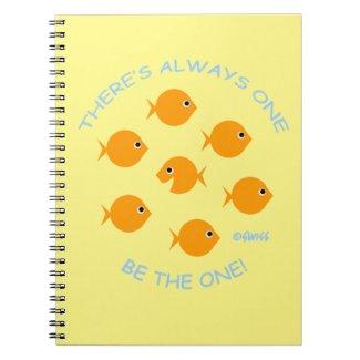 Cute Goldfish with Inspirational Teacher Motto