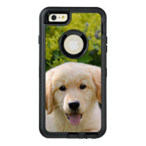 Cute Goldie Retriever Dog Puppy Pet Photo Protect OtterBox Defender iPhone Case