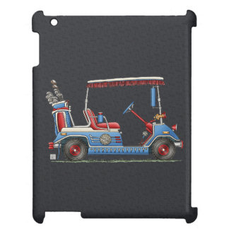 Cute Golf Cart Case For The iPad 2 3 4