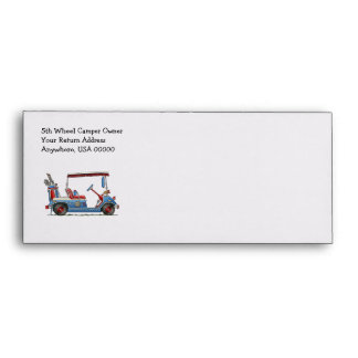 Cute Golf Cart Envelopes