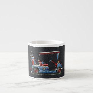 Cute Golf Cart Espresso Cup