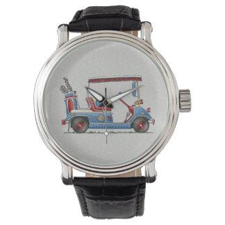 Cute Golf Cart Wrist Watch