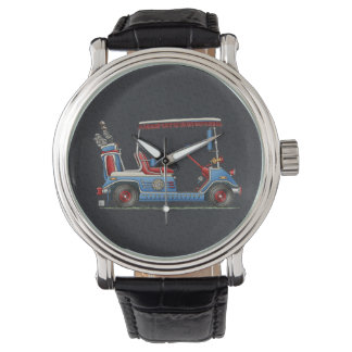Cute Golf Cart Wrist Watches