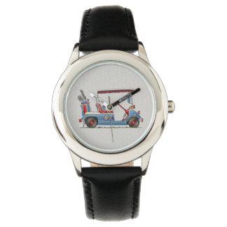 Cute Golf Cart Wristwatch