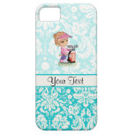 Cute Golf; Damask Pattern iPhone 5 Cases