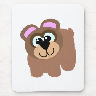Cute Goofkins brown bear Mouse Pad