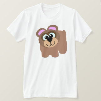 Cute Goofkins brown bear T-Shirt