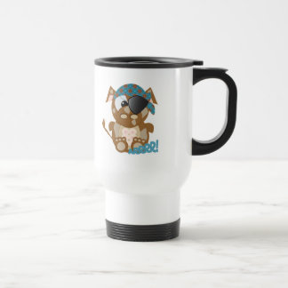 Cute Goofkins brown cow pirate Mugs