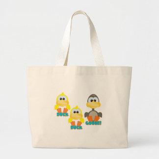 Cute Goofkins duck duck goose Canvas Bag