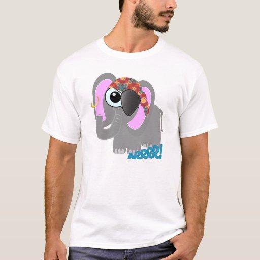 Cute Goofkins elephant pirate T-Shirt