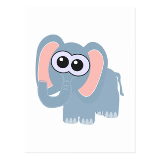 Cute Goofkins elephant Postcard