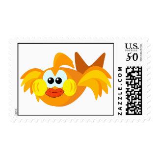 Cute Goofkins goldfish Postage