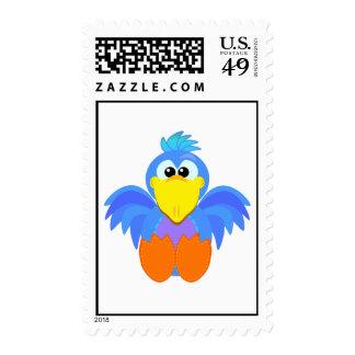 Cute Goofkins goofy bird Stamp