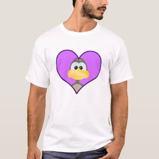 Cute Goofkins goose heart T-Shirt