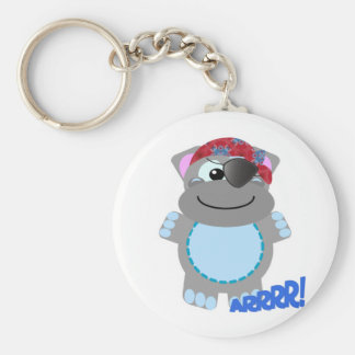 Cute Goofkins hippo pirate Keychains