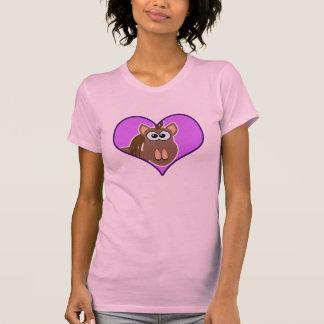 Cute Goofkins horse heart T Shirt