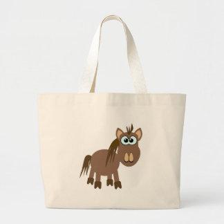 Cute Goofkins horse Tote Bags