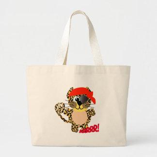 Cute Goofkins leopard pirate Tote Bag