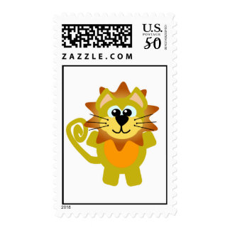 Cute Goofkins lion Postage