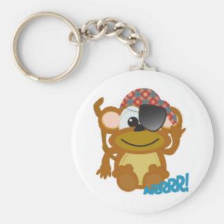 Cute Goofkins monkey pirate Keychain