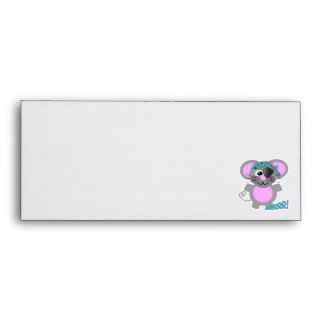 Cute Goofkins mouse pirate Envelope