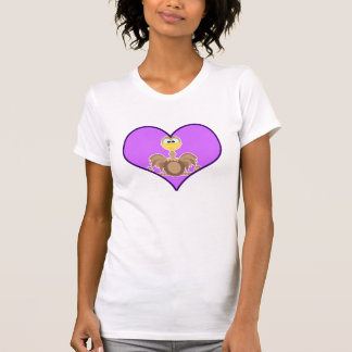 Cute Goofkins ostrich heart T-Shirt