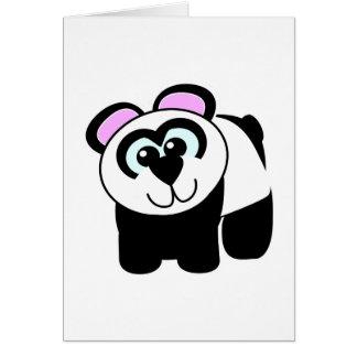 Cute Goofkins panda Card