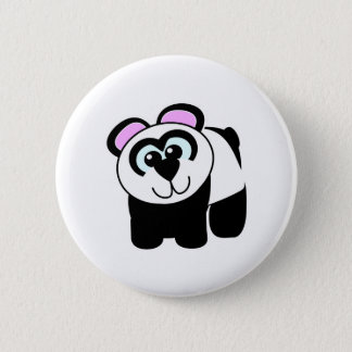 Cute Goofkins panda Pinback Button