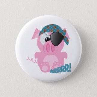 Cute Goofkins piggy pirate Button