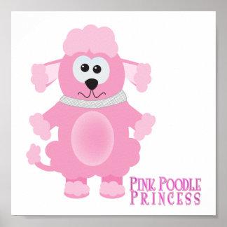 Cute Goofkins pink poodle princess Poster