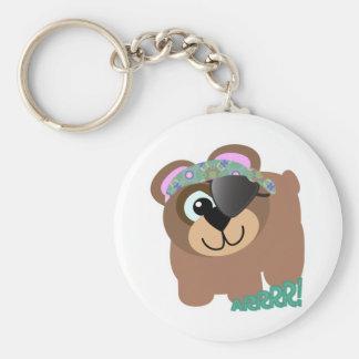 Cute Goofkins pirate bear Keychain