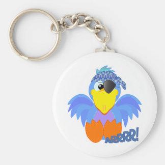 Cute Goofkins pirate bluebird Keychains