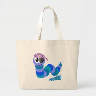 Cute Goofkins pirate caterpillar Bag