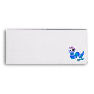 Cute Goofkins pirate caterpillar Envelopes