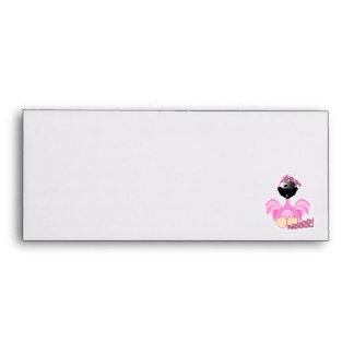 Cute Goofkins pirate flamingo Envelope