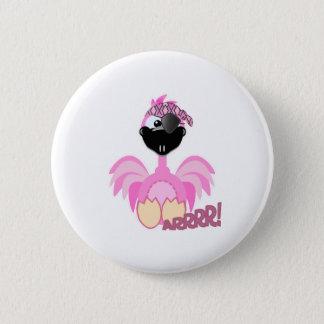 Cute Goofkins pirate flamingo Pinback Button
