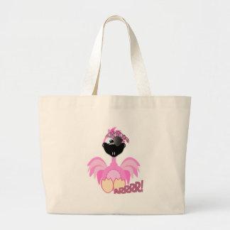 Cute Goofkins pirate flamingo Tote Bag