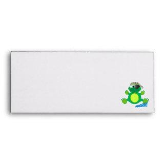 Cute Goofkins pirate froggy Envelopes