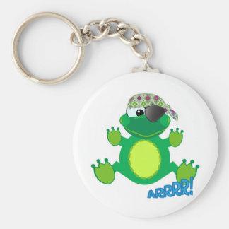 Cute Goofkins pirate froggy Keychain