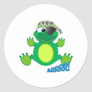 Cute Goofkins pirate froggy Stickers