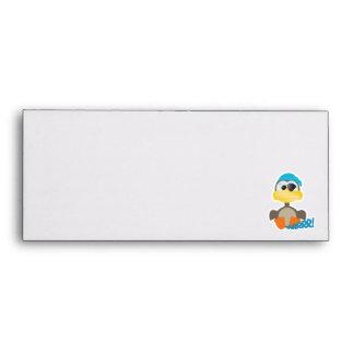 Cute Goofkins pirate goose Envelopes