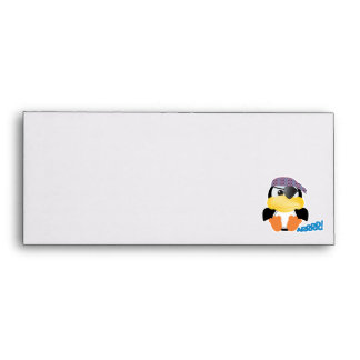 Cute Goofkins pirate penguin Envelope