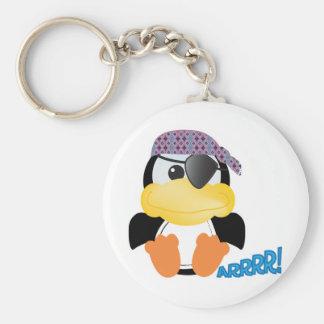 Cute Goofkins pirate penguin Keychains
